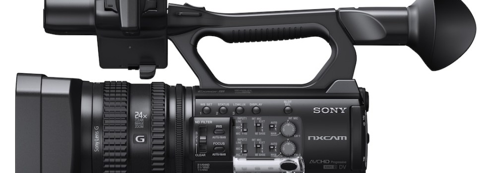 La nuova Sony HXR-NX100 è disponibile da Project Italia