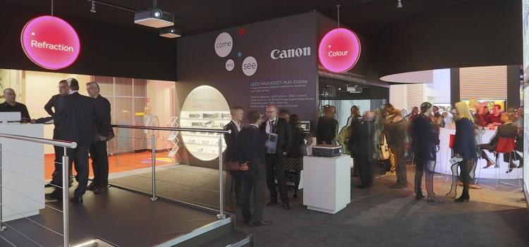 Canon all'ISE di Amsterdam
