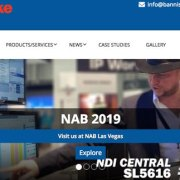 Bannister Lake la 2019 NAB Show Broadcast Engineering e Information Technology Conference (BEITC)