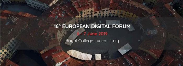 Forum Digitale, a Lucca il 6 e 7 giugno