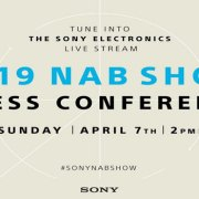 Sony Press Event NAB 2019