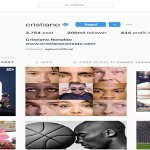Cristiano Ronaldo, re di Instagram con 200 milioni di followers