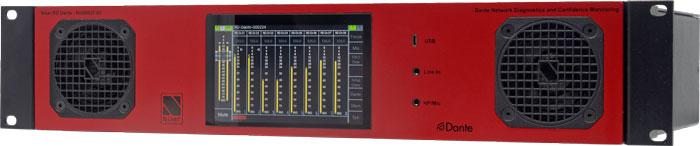 Nixer Pro Audio, monitoraggio e diagnostica audio Dante, in Italia con Video Signal
