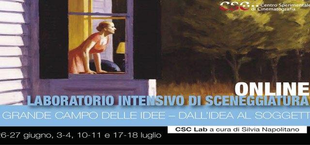 CSC – Il grande campo delle idee – Dall'idea al soggetto