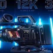 La camera Blackmagic 12k alla prova sul set