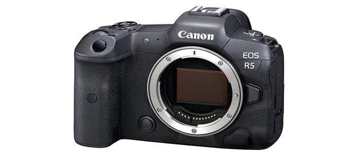Video a 8K con la Canon EOS R5