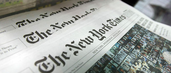 New York Times, il digitale supera la carta