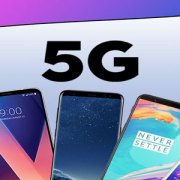 Smartphone 5G, in testa Samsung