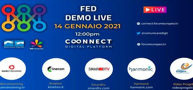 Forum Europeo Digitale – FED DEMO LIVE