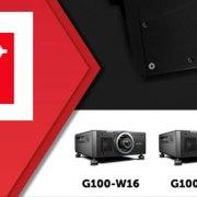 G100, la nuova linea di videoproiettori Barco