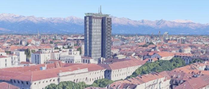 In vendita il grattacielo Rai di Torino