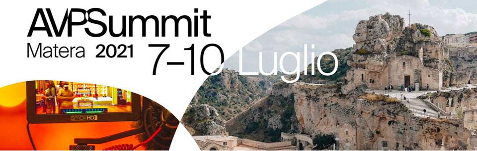 Dal 7 al 10 luglio Matera capitale dell'Audiovisivo