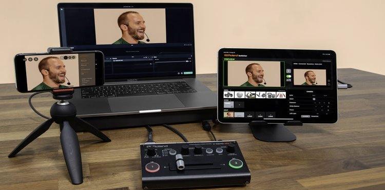 Roland annuncia lo streaming video mixer V-02HD MK II
