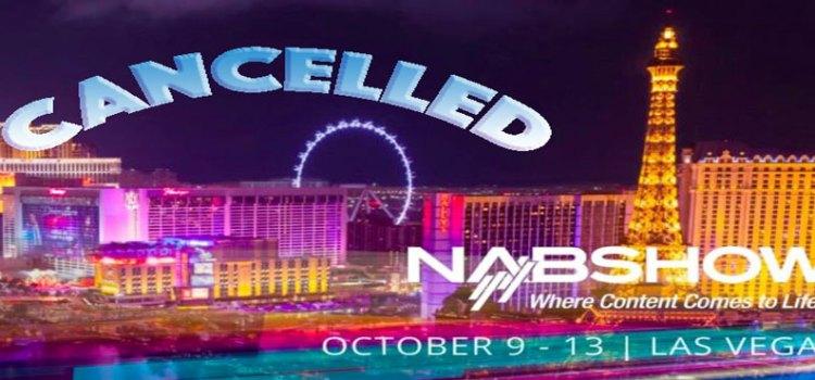 NAB 2021: lo show, previsto ad ottobre, è stato CANCELLATO