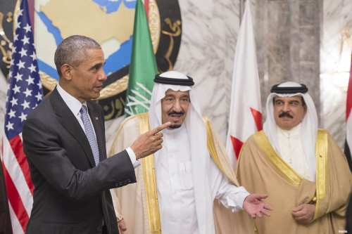 Obama se reúne con el rey saudí, Salman bin Abdulaziz