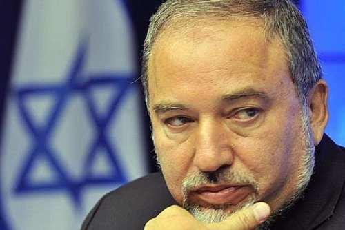 El ex ministro de asuntos exteriores israelí, Avigdor Lieberman