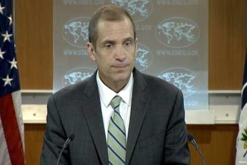 El portavoz del Departamento de Estado de EE.UU., Mark Toner
