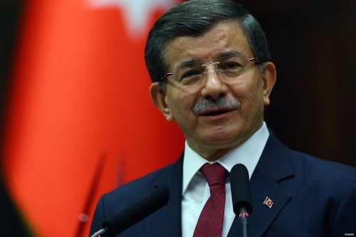 El ex-presidente del AKP, Dr. Ahmet Davutoglu.