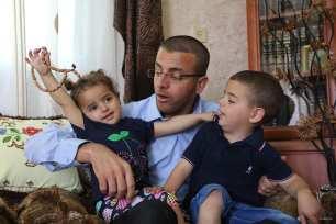 Hebrón, Cisjordania. Feliz de estar en casa.