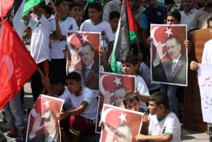 20160716-Gazans-Rally-Against-Coup-Attempt-In-Turkey008