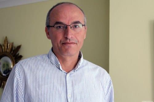 Ayed Abu Eqtaish, director del programa de Responsabilidad y Transparencia en DCI-Palestina