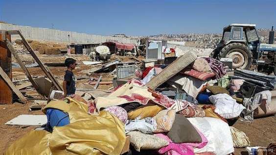 Demoliciones de casas en Cisjordania