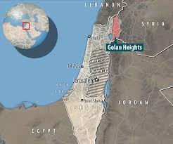 Altos del Golán. Fuente: Daily Mail