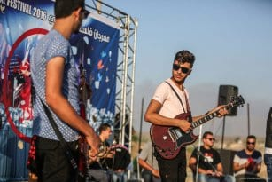20160807_Palestinian-Music-Band-Performs-At-Erez-Crossing-003
