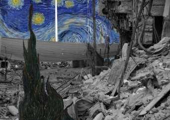 Noche Estrellada. Van Gogh. Museo Sirio