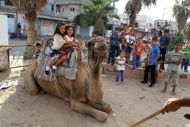 GAZA, PALESTINA: Va a ser un viaje animado...