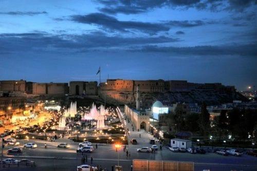 Vista de la ciudadela de Erbil. (Flickr/lachicaphotos)
