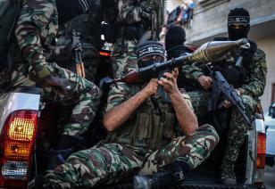 Desfile de las Brigada de An-Nasser Salah ad-Din, 26 de septiembre de 2016. Ali Jadallah, Agencia Analodu
