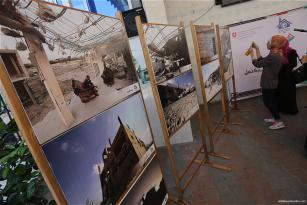 Las personas sin hogar esperan todavía que lleguen los fondos prometidos para la reconstrucción de la Franja de Gaza.