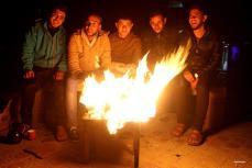 RAFA, GAZA- Noches alrededor de la hoguera