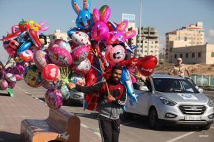 GAZA, GAZA- No importa la edad que tengas, te sentirás atraído por los globos