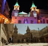 Catedral de San Elias, una iglesia católica oriental en la Plaza Farhat, Alepo (Carlo Ohanian / Olympia)