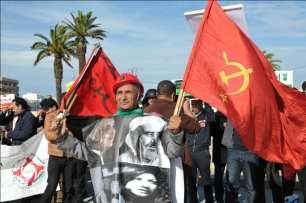 Marcha en Rabat contra la reforma de las pensiones, 14 de diciembre ( telquel.ma)
