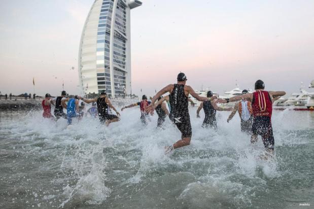 Dubai, EUA : ¡al agua patos!