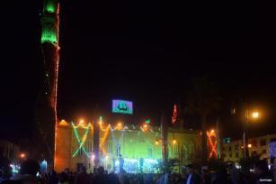 El Cairo, Egipto: celebraciones por el cumpleaños de un descenciente del Profeta Mohhamad