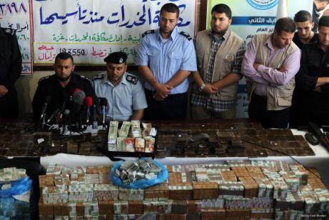 Policía de Gaza incauta el mayor alijo de drogas en la ciudad sureña de Rafah