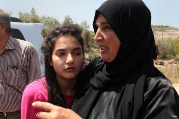 Dima al-Wawi, de 12 años, es liberada después de pasar 75 días en una cárcel israelí