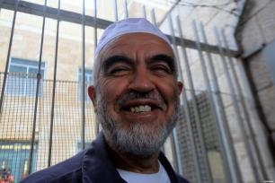 """El líder del Movimiento Islámico en Israel, el jeque Raed Salah, comienza una pena de prisión de nueve meses después de ser condenado por un tribunal israelí por """"incitación"""""""