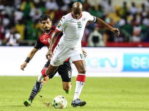 Semifinales, en el partido de fútbol entre Burkina Faso y Egipto en el Stade de l'Amitie Sino-Gabonaise en Libreville el 1 de febrero de 2017 [ Fared Kotb / Agencia Anadolu]