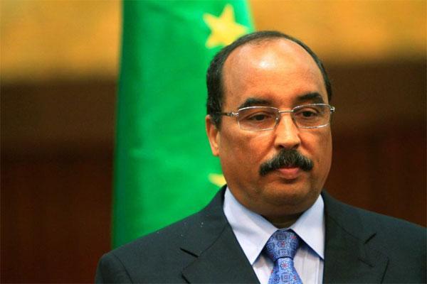 El presidente de Mauritania, Mohamed Ould Abdel Aziz [Foto de archivo]