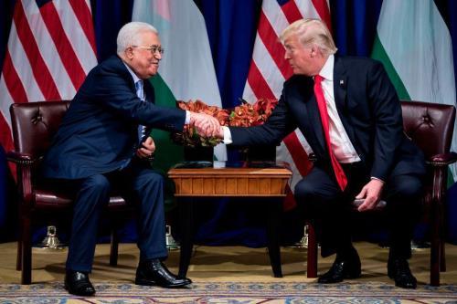 La Autoridad Palestina está tomando partido en un juego diplomático…