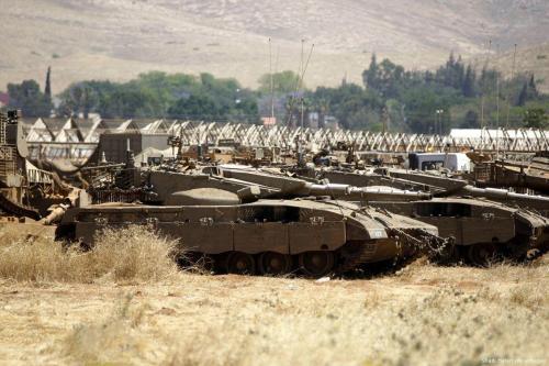 Israel inicia un entrenamiento militar en el valle del Jordán