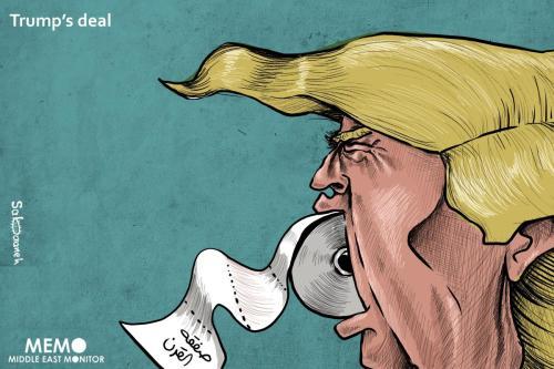 """Un periódico israelí publica los términos del """"Acuerdo del Siglo"""""""