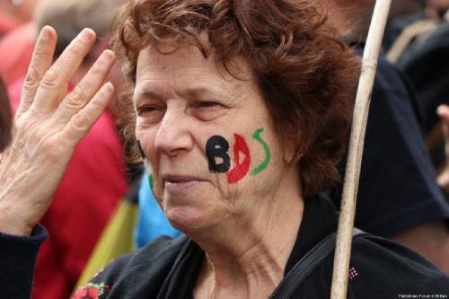 Campaña de boicot, desinversión y sanciones (BDS), discurso público