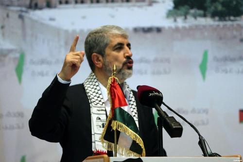 Meshaal: los palestinos y sus facciones están unidos contra el…
