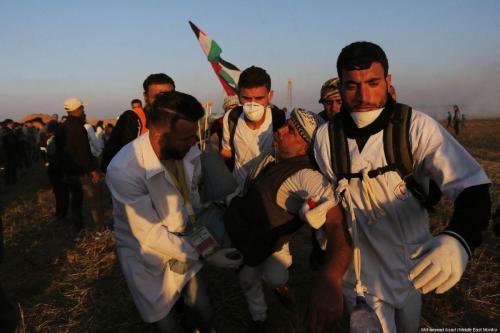 Israel hiere deliberadamente a civiles palestinos en Gaza